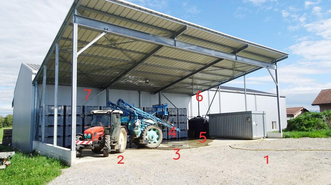 1_Neubau_Wasch-Fuellplatz_Landwirtschaft_mit_Ziffern