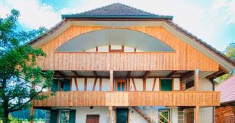 Bauernhaus-Exkursion