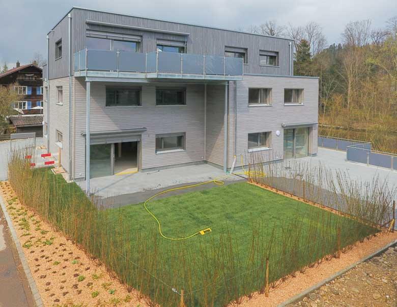 Neubau Mehrfamilienhaus Aemmehof in Emmenmatt