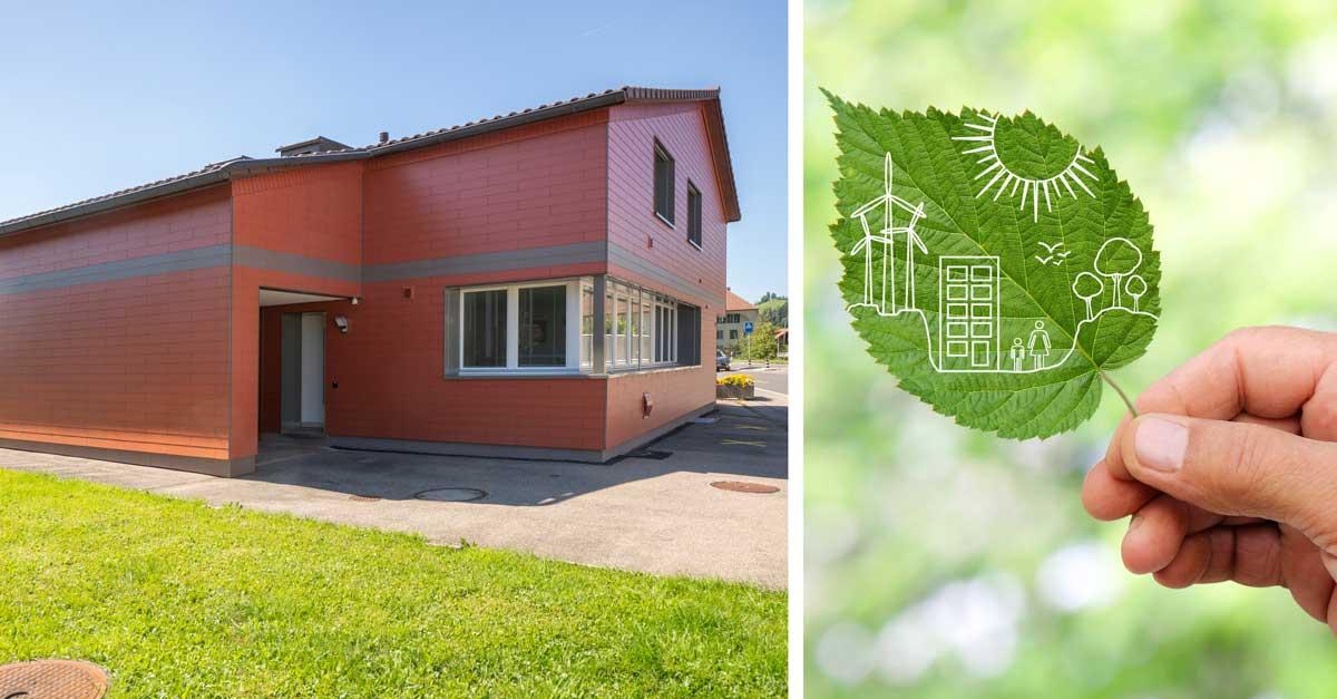 Die Gebäudehülle, der CO2-Sparer