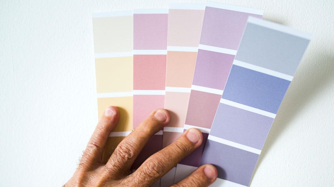 Alle Farben in allen Nuancen